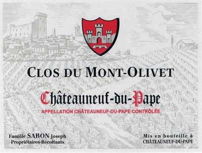 Clos du Mont-Olivet   North Berkeley Imports