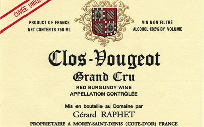 Vinous: Gerard Raphet is 'Under the Radar' Burgundy Talent
