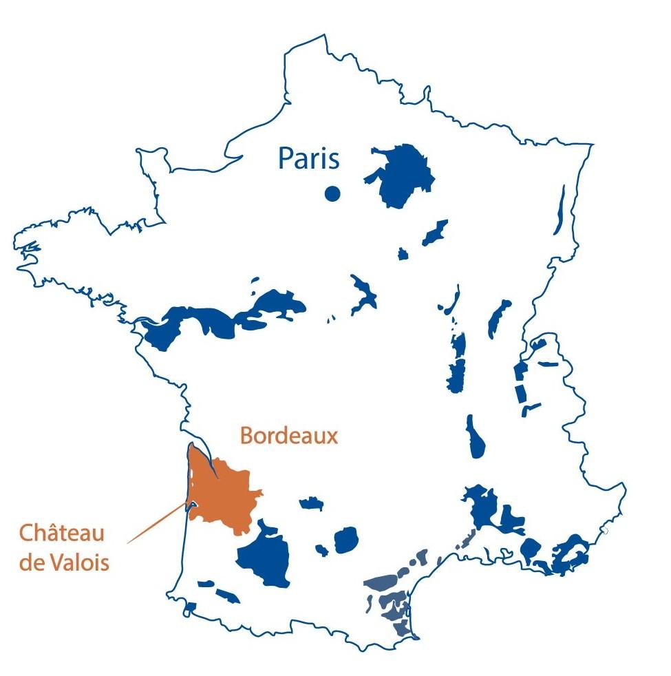 Chateau de Valois Bordeaux North Berkeley Imports