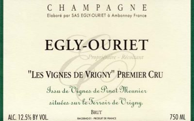 Egly-Ouriet's Pinot Meunier Praised in WSJ