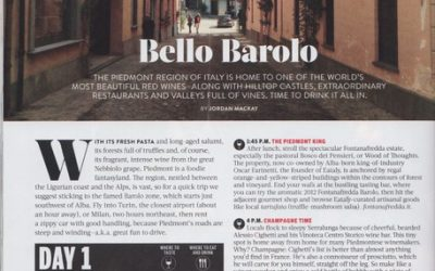 Fratelli Alessandria On Food & Wine's Required Barolo Trip List