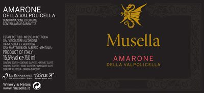 Musella Amarone Gets Top Marks With Wine & Spirits