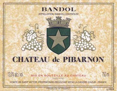 The Best of Bandol: Wine & Spirits Reviews Pibarnon