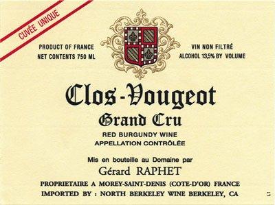 Vinous: Gerard Raphet is 'Under the Radar' Burgundy Talent