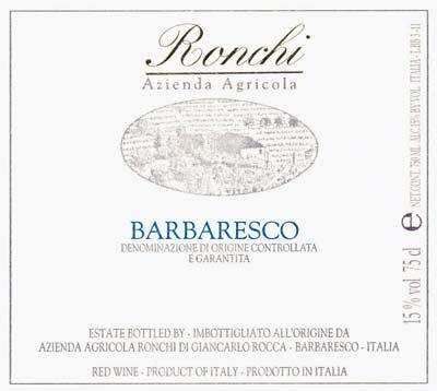 Che Fico's Francesca Maniace Touts Ronchi Barbaresco & Italian Wines