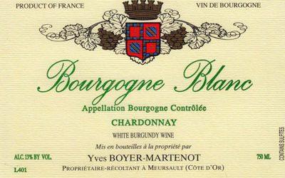 Top Somm Tips Hat For Boyer Bourgogne Blanc