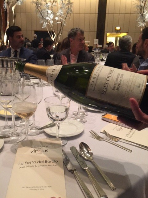 Egly-Ouriet Served at the Festa del Barolo in NYC