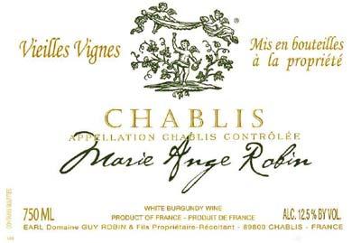 Chablis' Marie-Ange Robin A Female Grower Pioneer