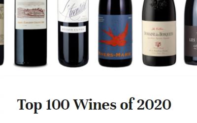 Three NBI Selections Make Top 100 Wines of 2020